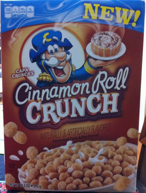 Cinnamon Roll Crunch Capn Crunch