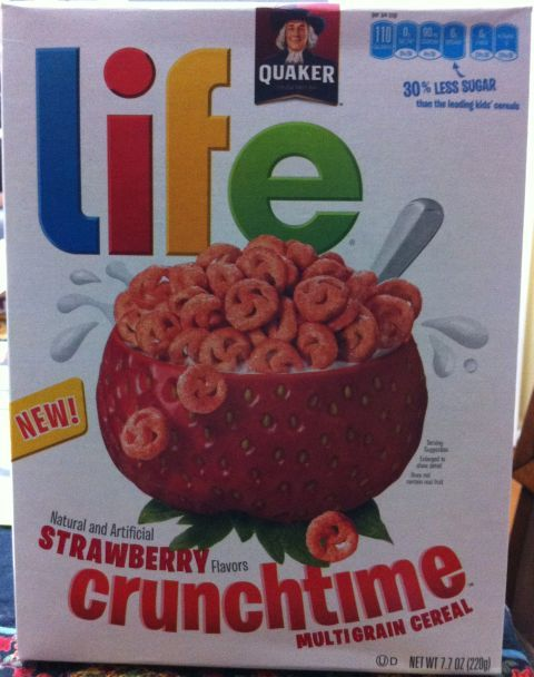 Strawberry Life Crunchtime Cereal