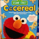 Elmo C Is For Cereal Sesame Street