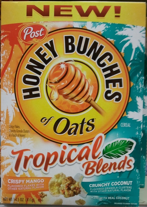 Honey Bunches of Oats Tropical