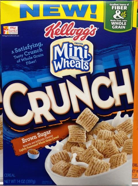 Mini Wheats Crunch Brown Sugar