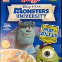 Disney Pixar Monsters University Cereal